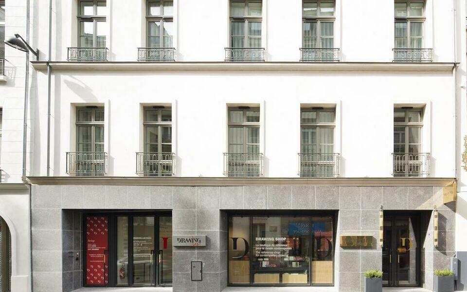 Drawing Hotel Rue De Richelieu