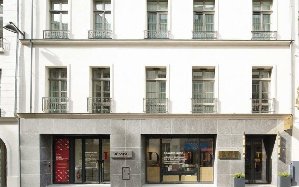 Drawing hotel a design boutique hotel paris france for Best design boutique hotels paris