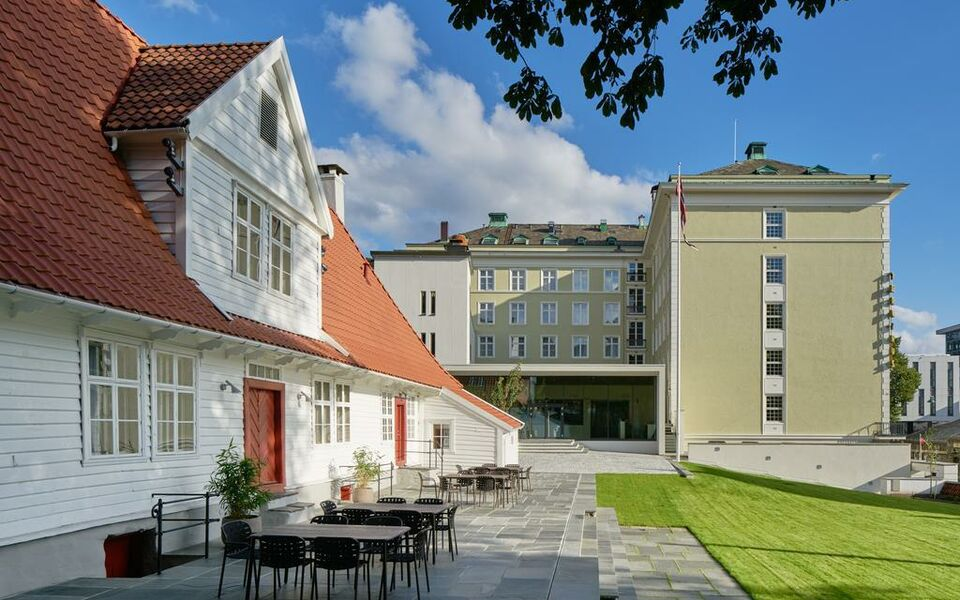 Hotel villa terminus a design boutique hotel bergen norway for Design hotel berge