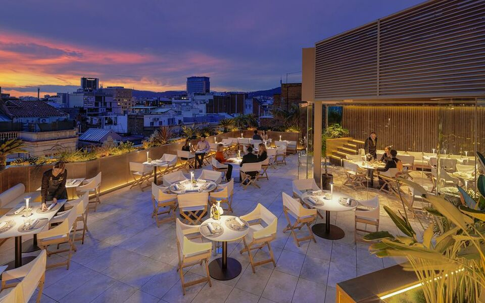 The one barcelona gl a design boutique hotel barcelona spain for Top design hotels barcelona