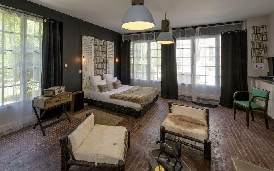 la parenthese du rond royal a design boutique hotel compi gne france. Black Bedroom Furniture Sets. Home Design Ideas