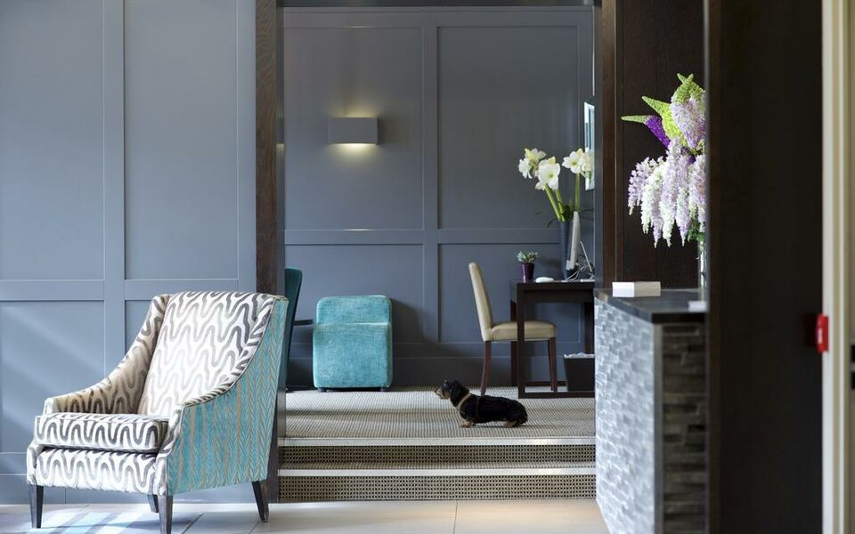 The lodge hotel a bespoke hotel londres royaume uni for Boutique hotel 54 london