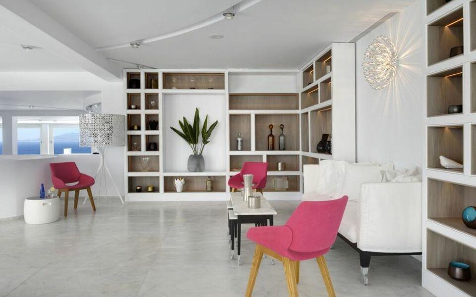 Myconian kyma design hotel mykonos griechenland for Griechenland design hotel