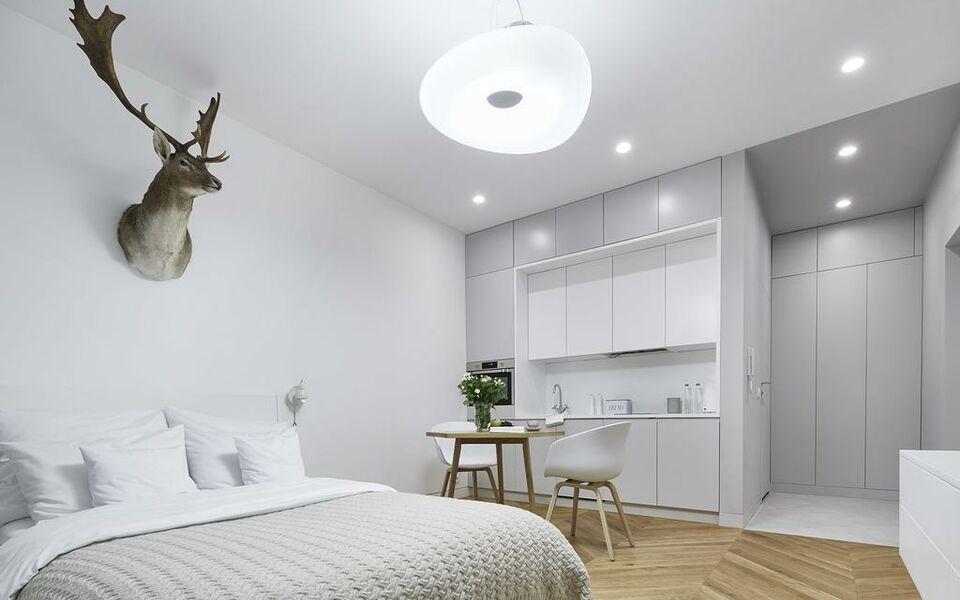 Blackhaus apartments a design boutique hotel krak w poland for Designer apartment krakow