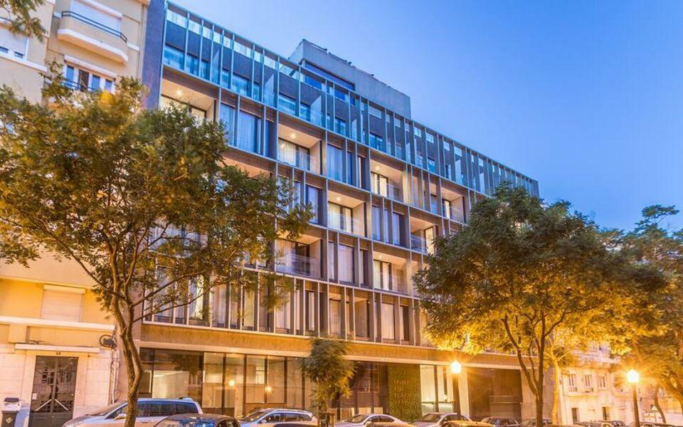Lux lisboa park lissabon portugal for Design boutique hotels lissabon
