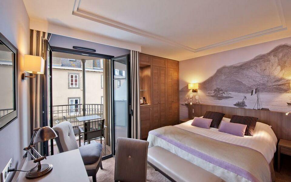 H tel le nouveau monde saint malo france my boutique hotel - Chambre de commerce saint malo ...