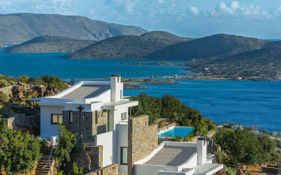 My villa crete a design boutique hotel elounda greece for Design hotel crete