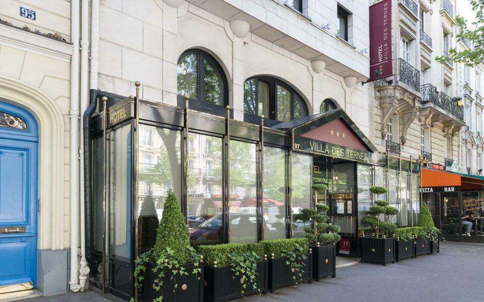 La villa des ternes a design boutique hotel paris france for Boutique hotels france