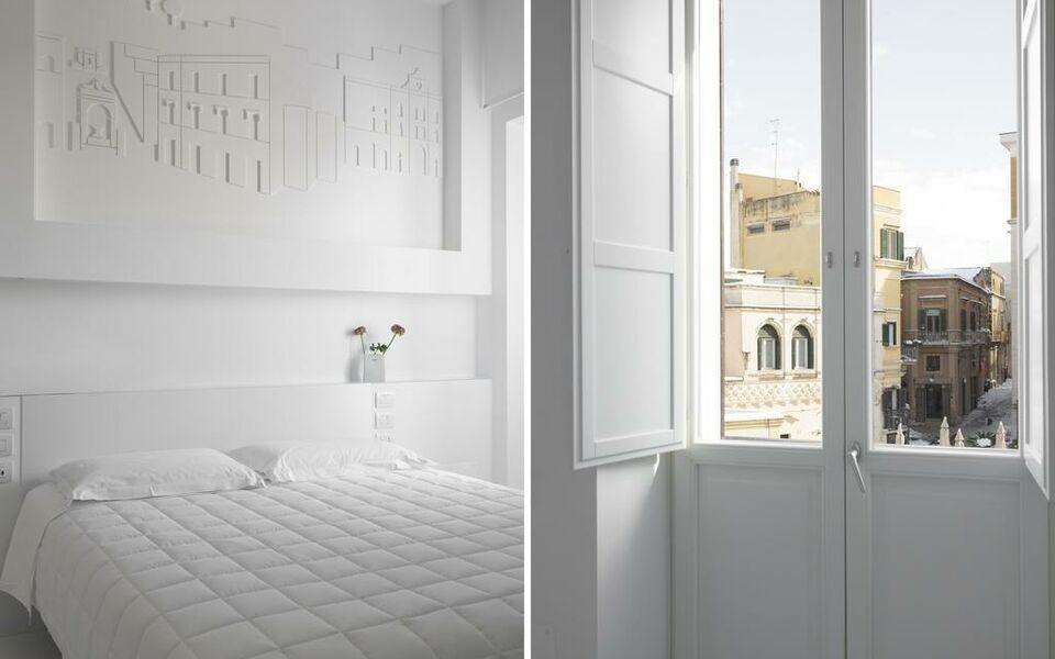 Vittorio veneto matera luxury rooms matera italie my for Boutique hotel pouilles