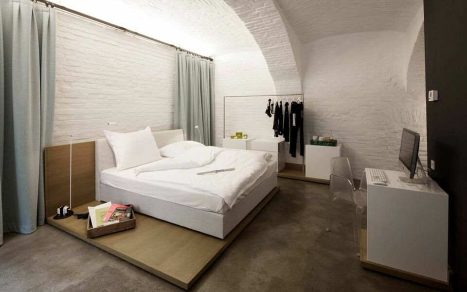 Graetzlhotel beim belvedere a design boutique hotel for Boutique hotel vienna