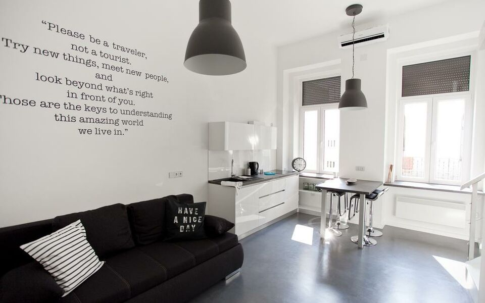 Design apartment budapest ungarn for Design hotel ungarn