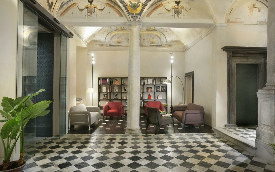 Hotel palazzo grillo genes italie my boutique hotel for Boutique hotel genova