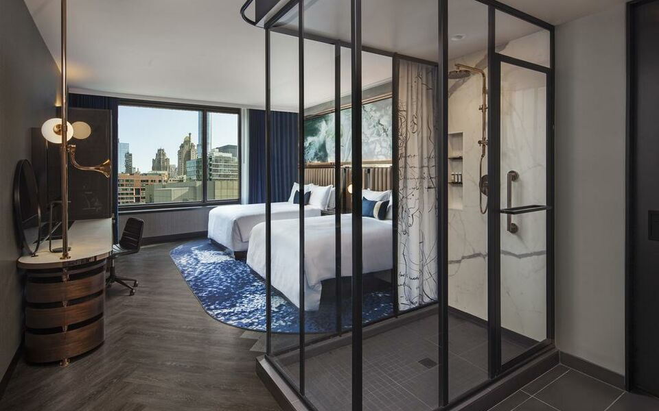 Hotel emc2 autograph collection a design boutique hotel for Hotel decor chicago