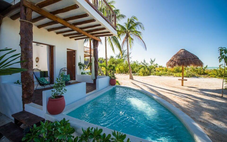 Villas hm palapas del mar a design boutique hotel holbox for Villas hm palapas del mar