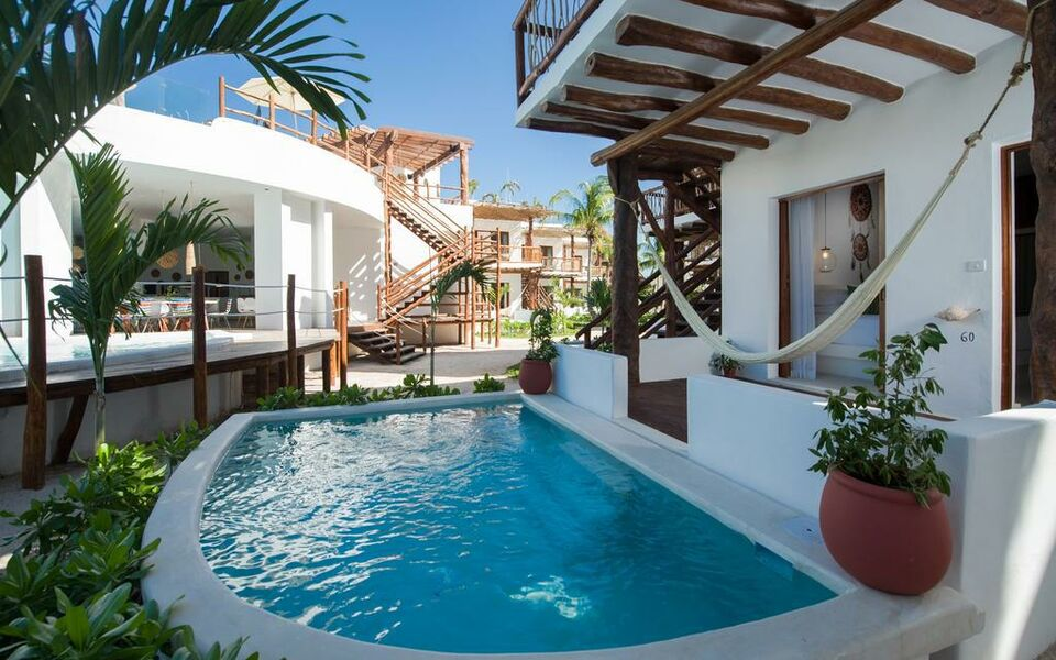 Villas hm palapas del mar a design boutique hotel holbox for Ma boutique hotel
