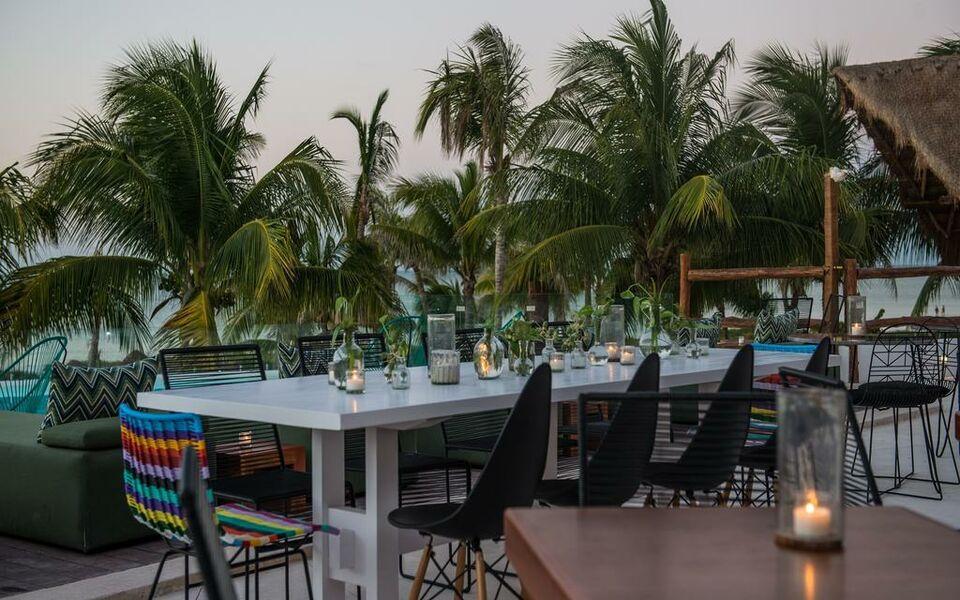 Villas hm palapas del mar holbox island mexiko for Villas hm palapas del mar