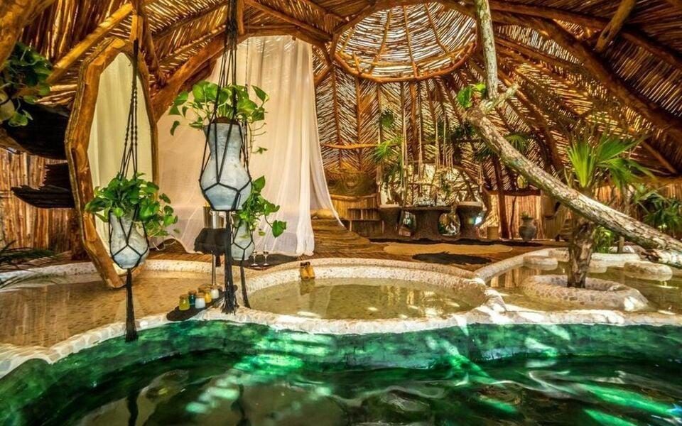 Azulik adults eco resort maya spa a design boutique for Design hotel tulum