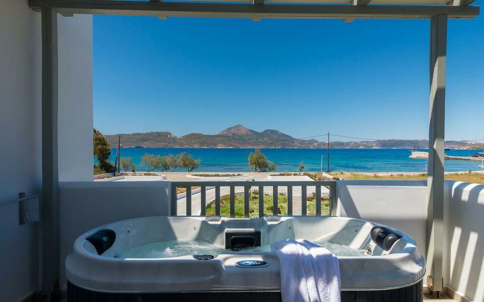 Olea bay hotel a design boutique hotel milos greece for Boutique hotel milos