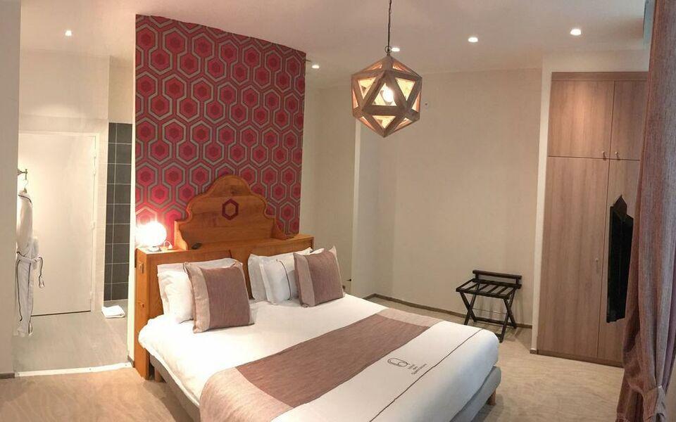 Hotel des quinconces a design boutique hotel bordeaux france for Hotel design bordeaux