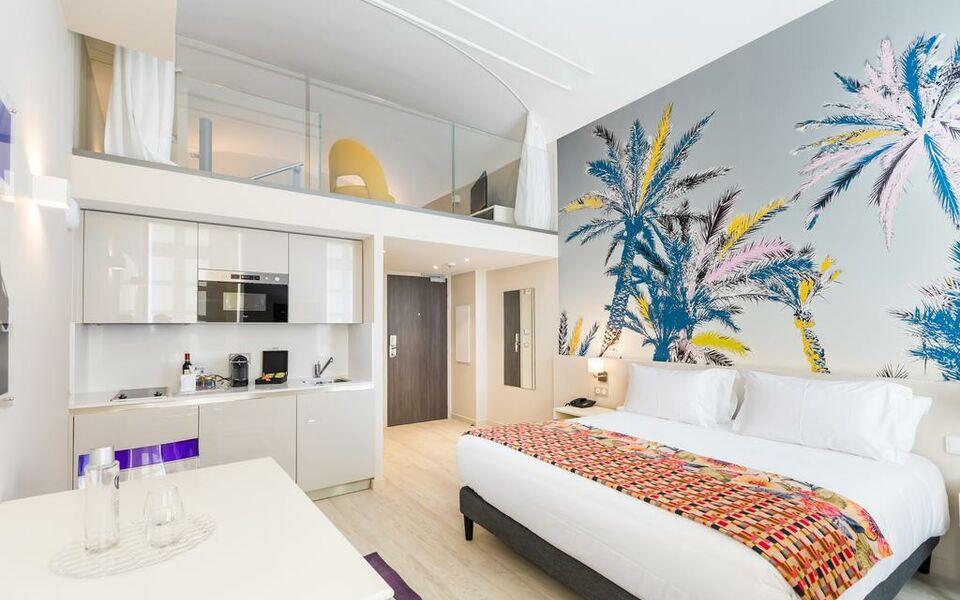 Palais saleya boutique h tel a design boutique hotel nice for Boutique hotel nice