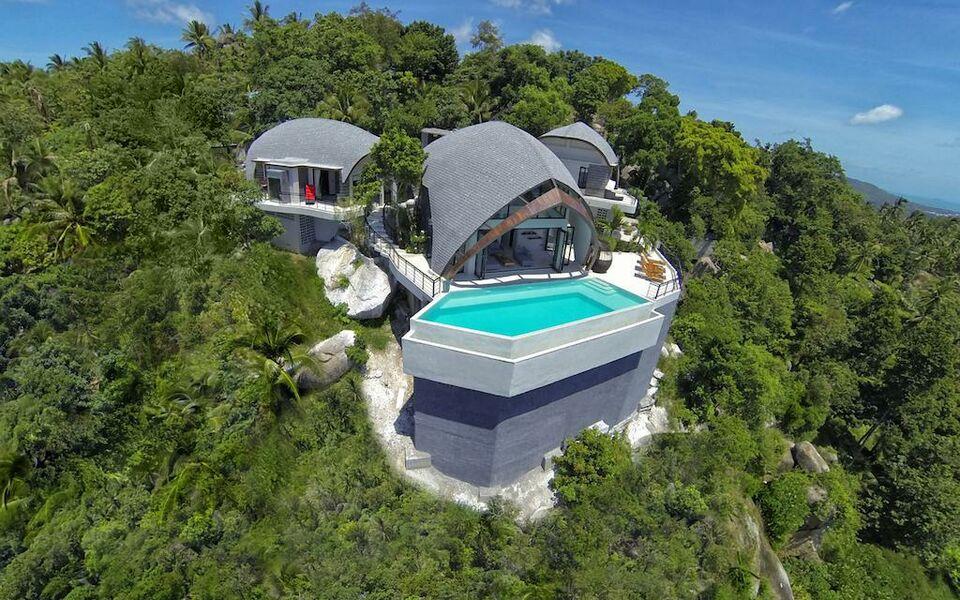 Villa moonshadow award winning villa chaweng noi beach - Complexe mandala beach villas koh samui en thailande ...