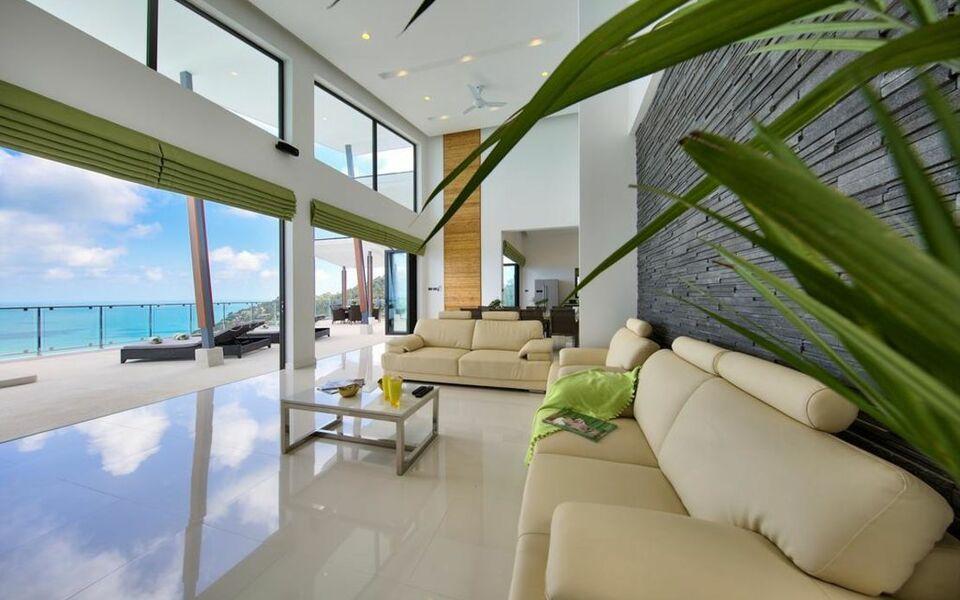 Chaweng peak villas award winning luxury villas a for Award winning boutique hotel