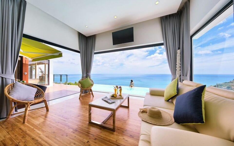 Chaweng peak villas award winning luxury villas chaweng for Award winning boutique hotel