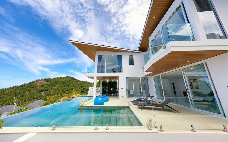 Villa orchid a5 a design boutique hotel lamai beach thailand for Ma boutique hotel