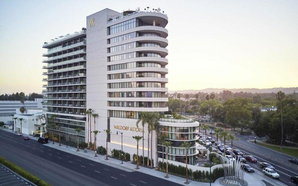 Waldorf Hotel Los Angeles