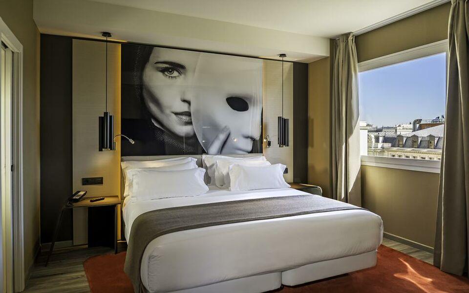 Nh collection madrid suecia a design boutique hotel for Design boutique hotel madrid