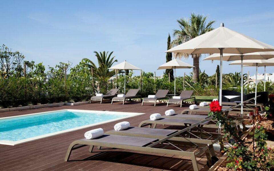 Vidamar sao rafael villas apartments guest house a for Boutique hotel algarve