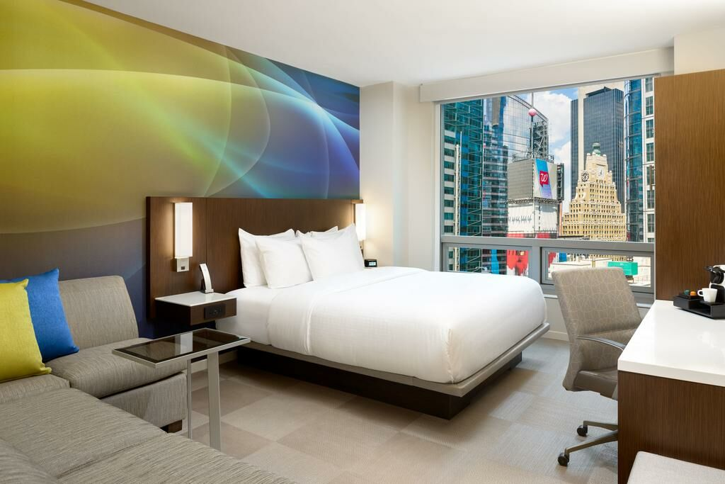 Luma hotel times square new york nyc vereinigte for Schlafsofa york