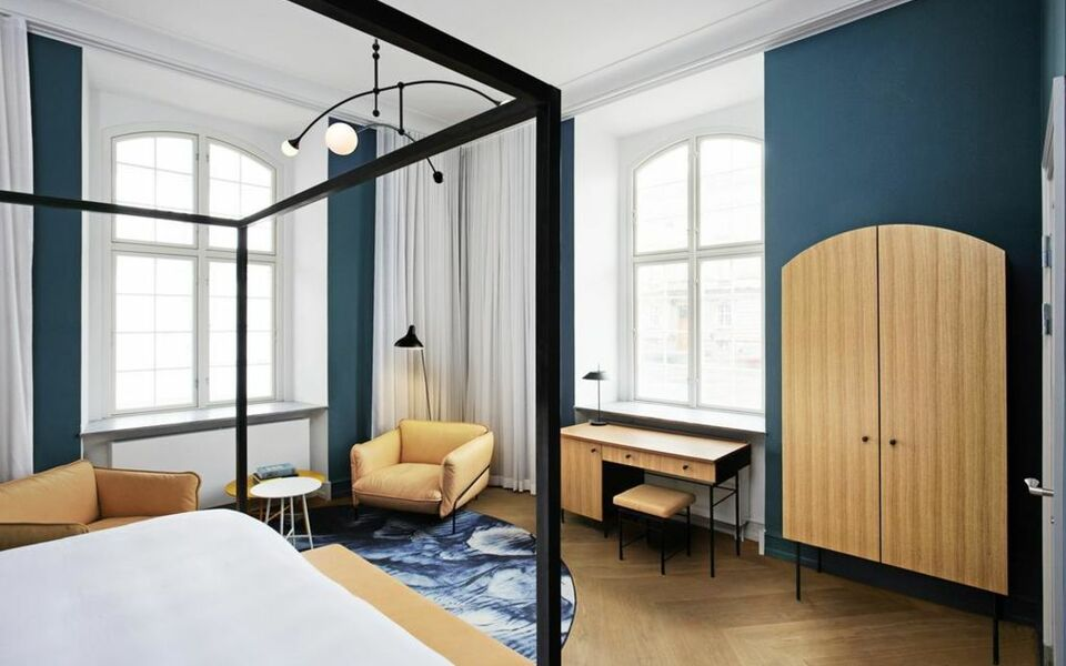 nobis hotel copenhagen a design boutique hotel copenhagen denmark. Black Bedroom Furniture Sets. Home Design Ideas