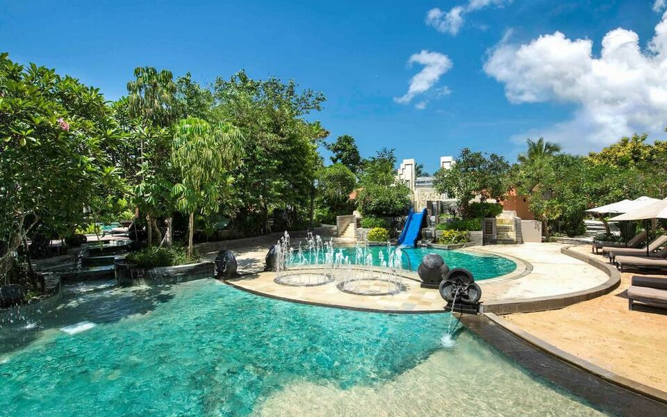 sofitel bali nusa dua beach resort nusa dua indonesien. Black Bedroom Furniture Sets. Home Design Ideas