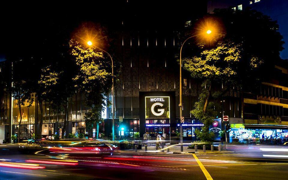 Hotel g singapore a design boutique hotel singapore for G design hotel