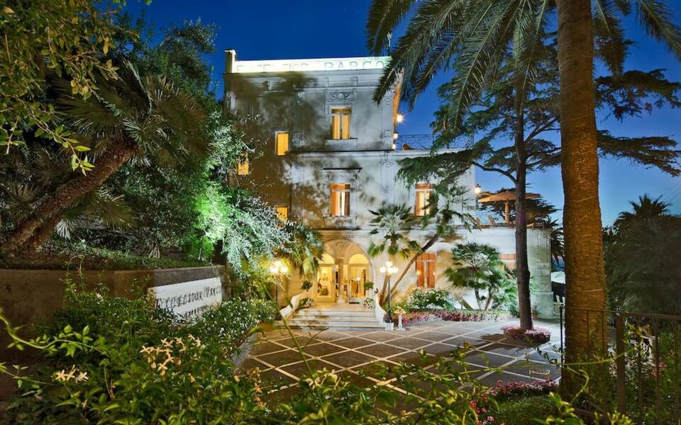 Luxury Villa Excelsior Parco Capri Italy