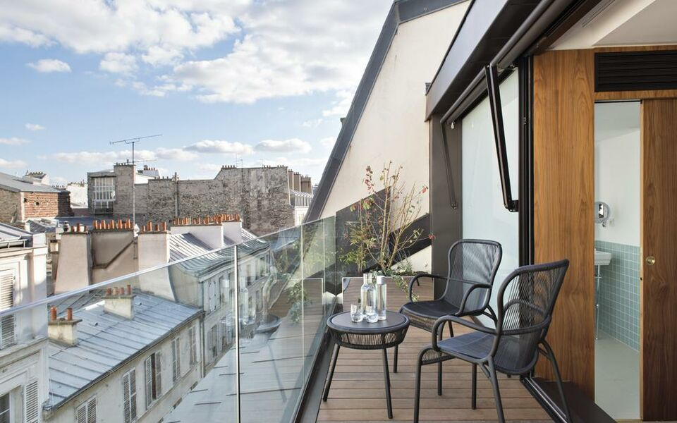 Hotel parister a design boutique hotel paris france for Boutique hotel paris 16