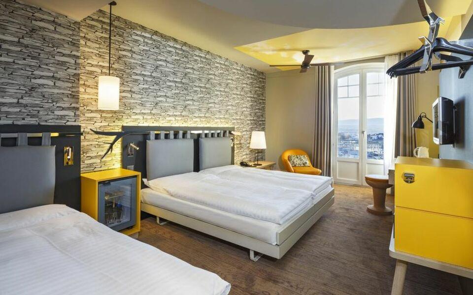 Swiss wine by fassbind a design boutique hotel lausanne for Hotel design schweiz