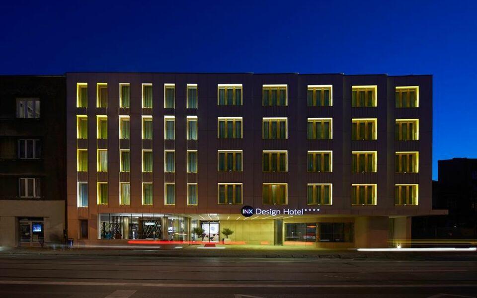 Inx design hotel krak w polen for Design boutique hotel freiburg