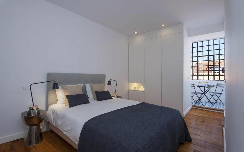 Olivier apartments downtown lisbon lissabon portugal for Design boutique hotels lissabon