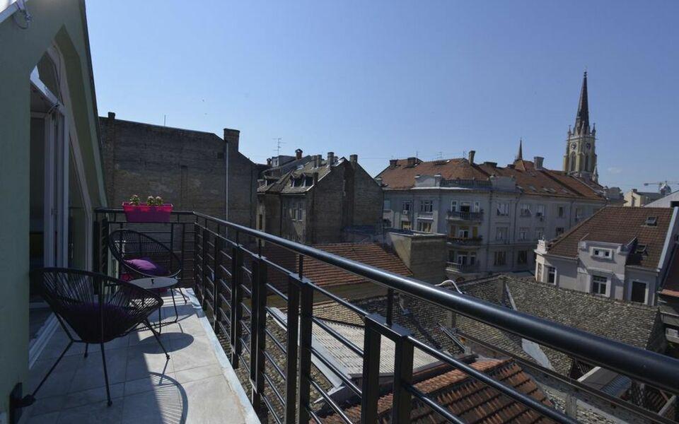 Blue Door Apartments, a Design Boutique Hotel Novi Sad, Serbia
