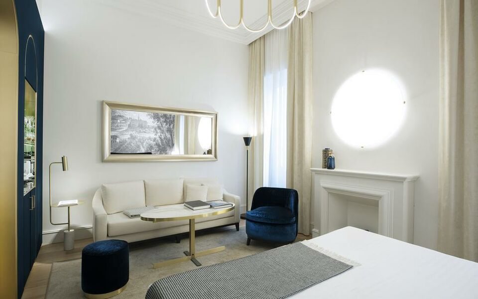 Elizabeth unique hotel a design boutique hotel rome italy for Design boutique hotels rome