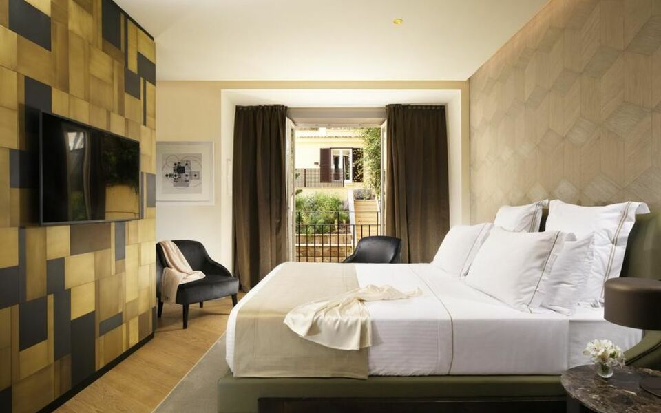 Margutta 19 small luxury hotels of the world rome for Boutique hotels of the world
