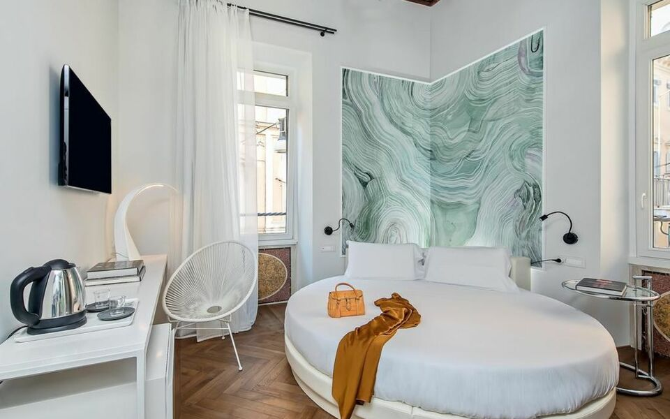 Boutique centrale palace a design boutique hotel rome italy for Boutique rome