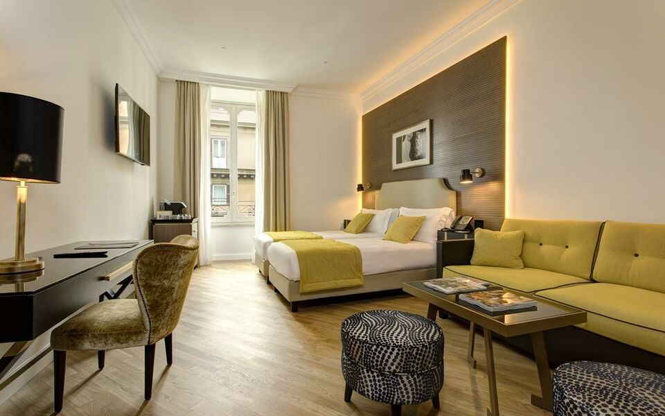 The k boutique hotel a design boutique hotel rome italy for My boutique hotel