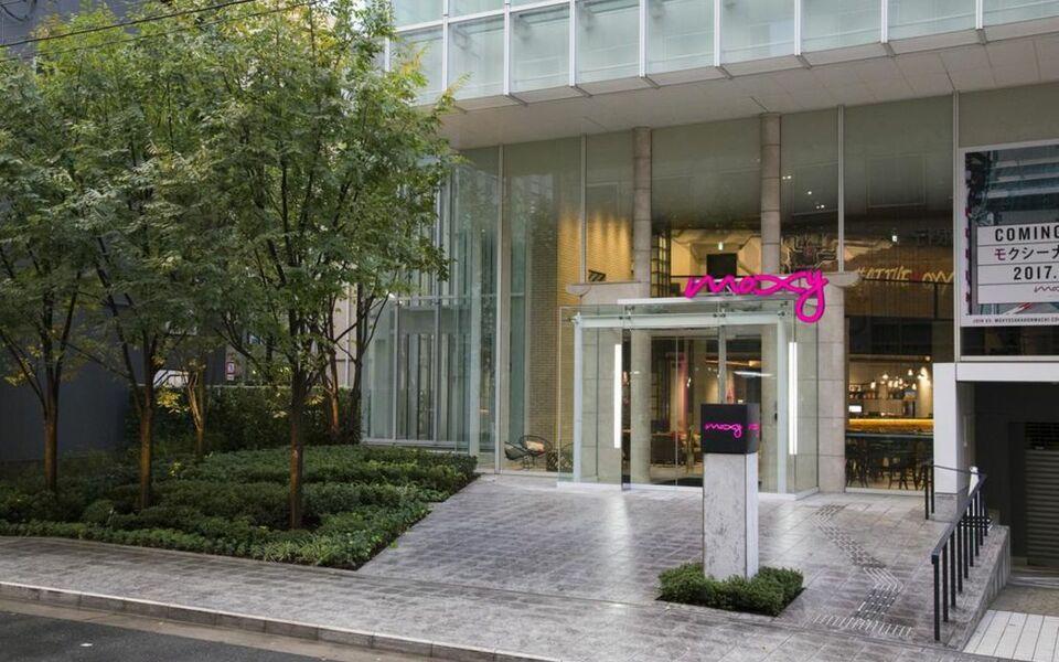 Moxy osaka honmachi osaka japan for Boutique hotel osaka