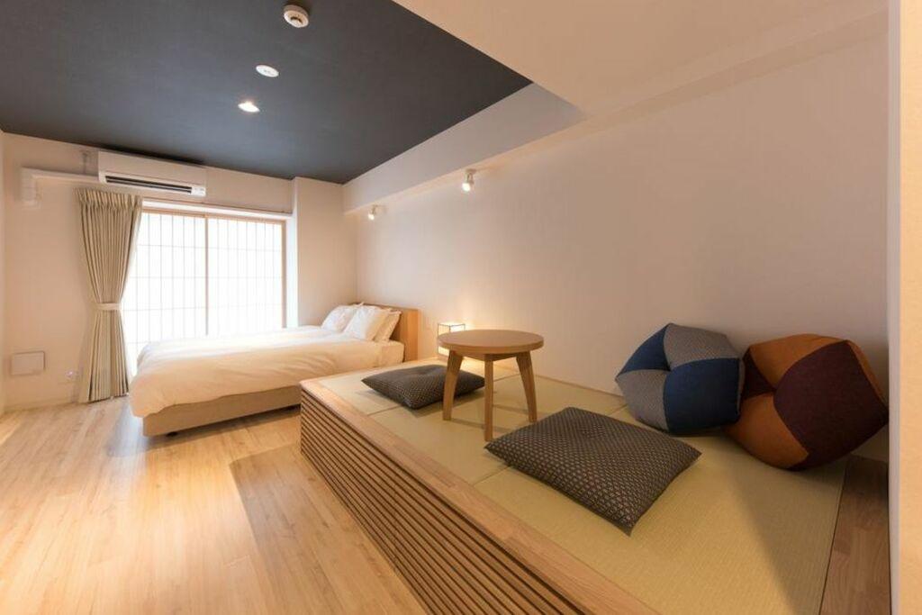 Residential hotel hare shin osaka a design boutique hotel for Design hotel osaka