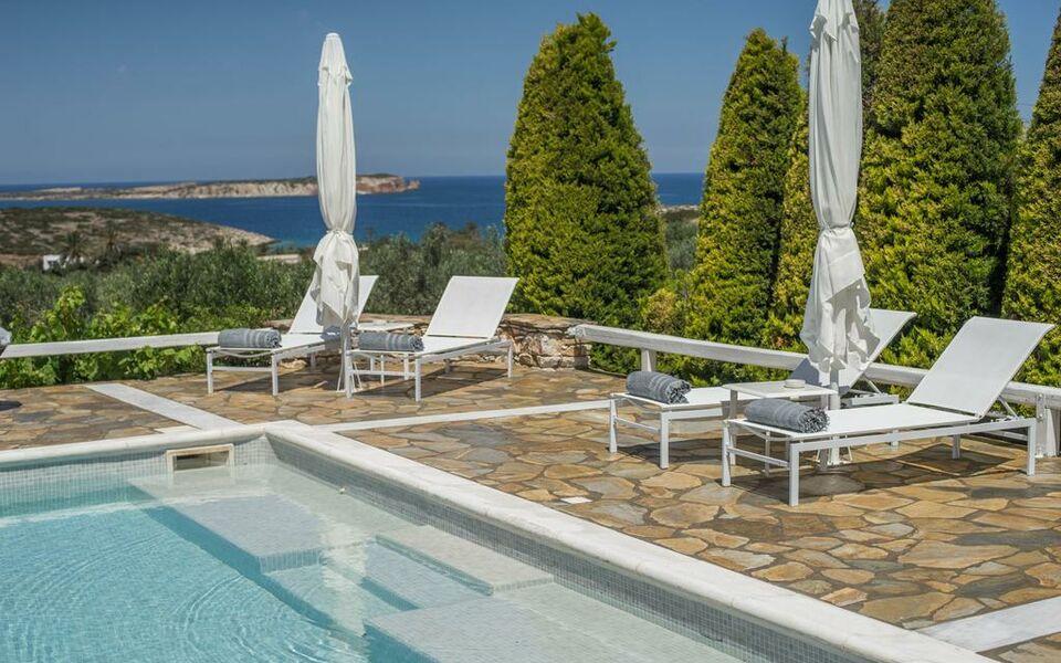 Paros Villas With Pools