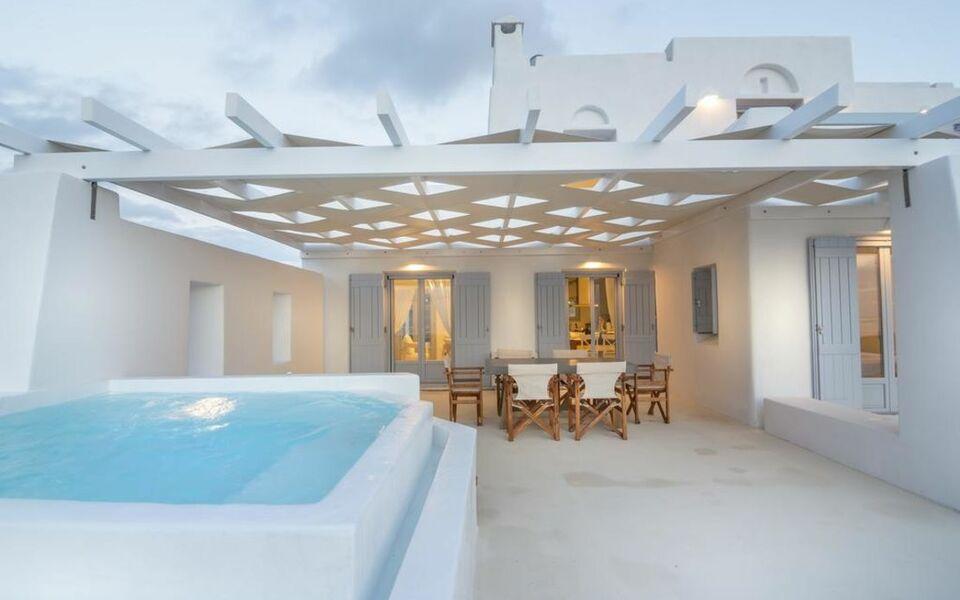 Passos villas a design boutique hotel paros greece for Boutique hotel paros