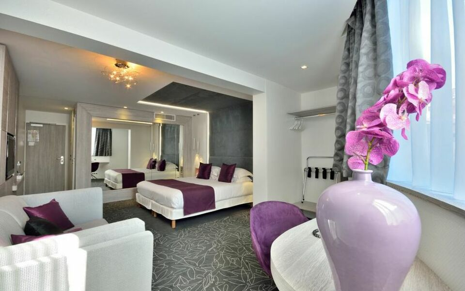 C zanne h tel spa cannes frankreich for Hotel cezanne boutique hotel